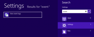 Event Viewer on Surface RT
