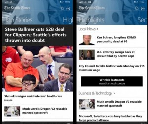 seattle times news app