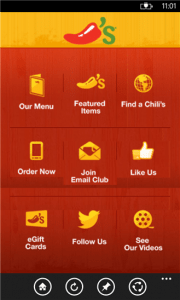 fast food chain apps