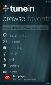 entertainment apps