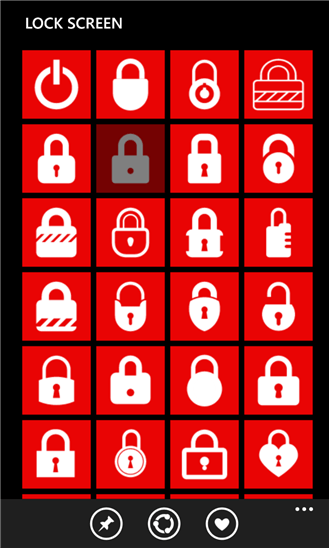 Windows Phone Lockscreen App