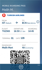 Turkish Airlines App