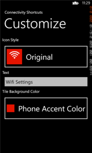 apps to customize Windows Phone