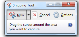 take screenshots in windows