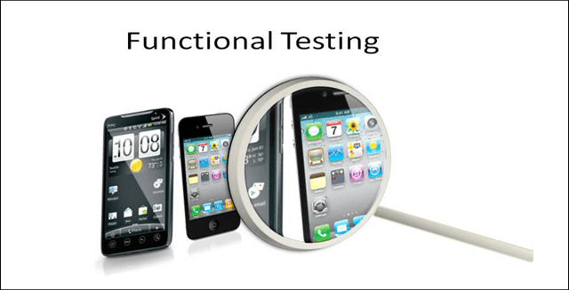 functional software testing