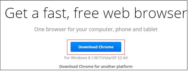fix Google Chrome