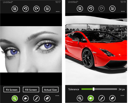 camera app for Windows Phone