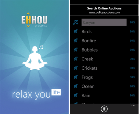 Windows Phone Stress-Relieving Apps