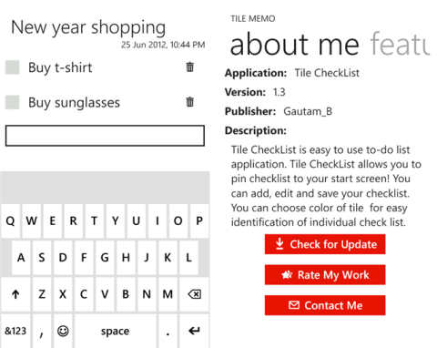 Windows Phone To-Do List Apps
