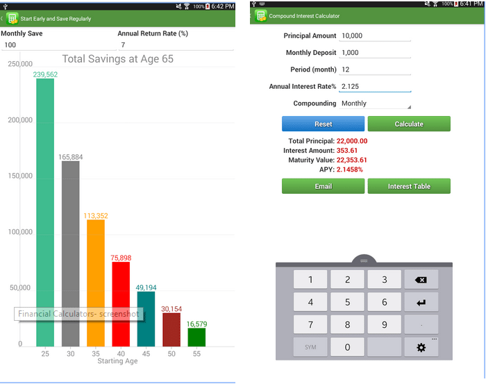 Android Calculator Apps