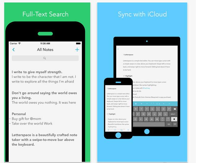 note-taking app