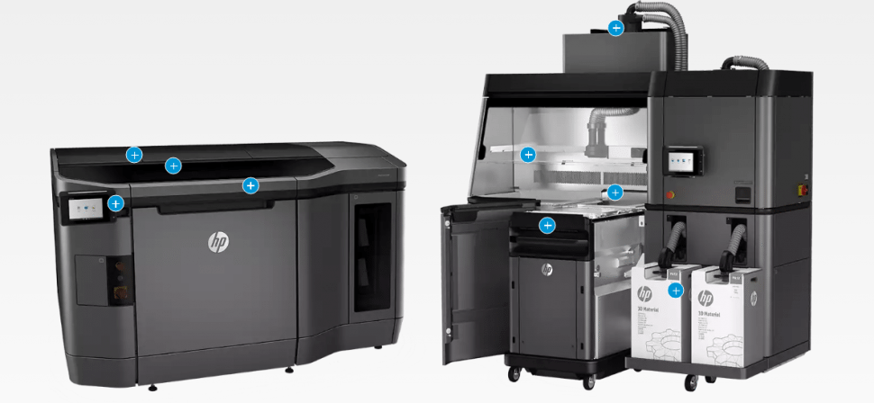 HP Jet Fusion 3D Printing Solution