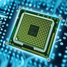1,000 processor microchip