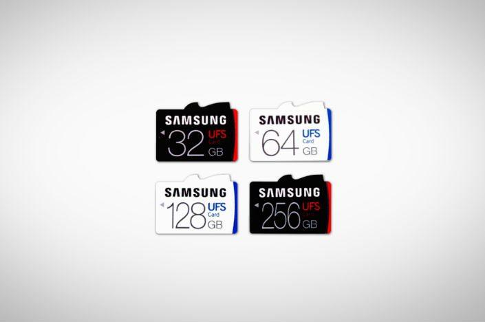 UFS memory cards