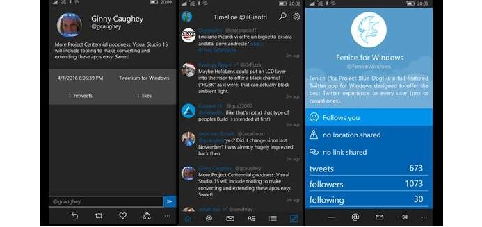 Windows Phone Twitter Client Apps