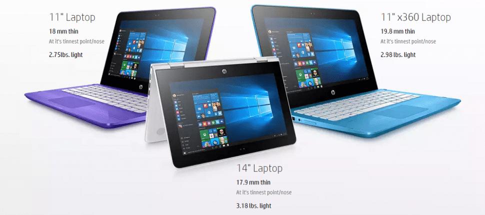 HP Stream Laptops