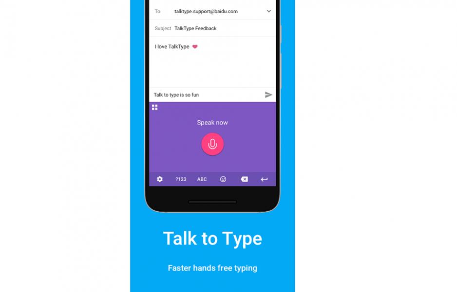 TalkType Voice Keyboard
