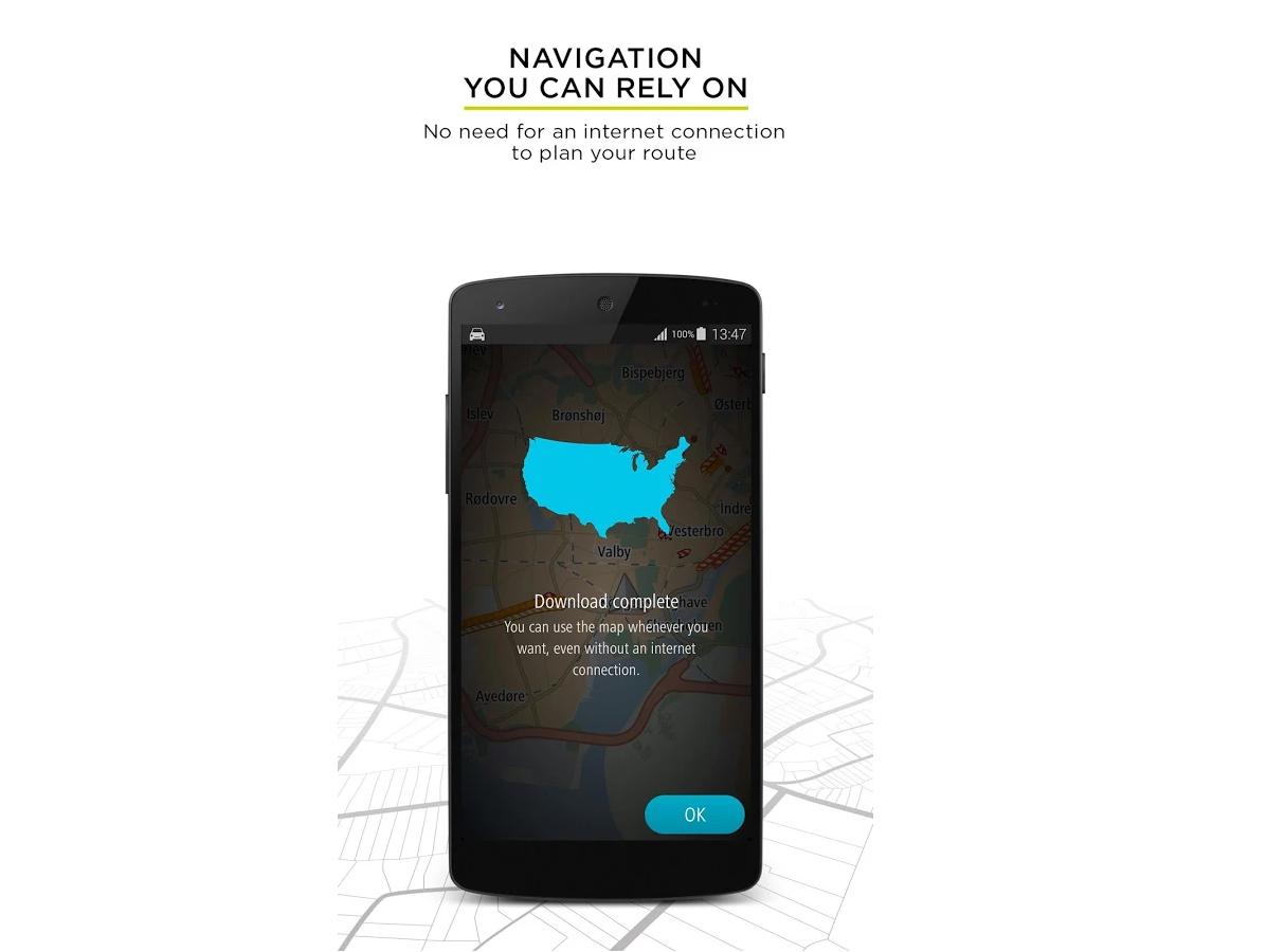 Offline GPS Navigation Apps