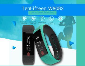 TenFifteen W808S Smart Wristband