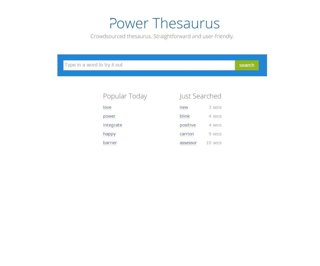 android thesaurus apps