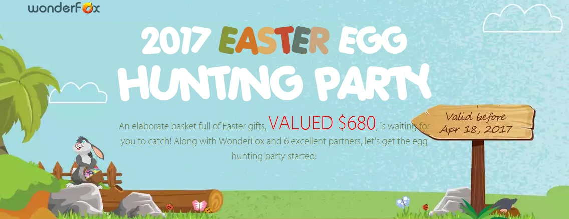 Wonderfox Easter Software Giveaway