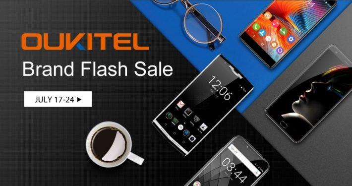 Oukitel Brand Flash Sale