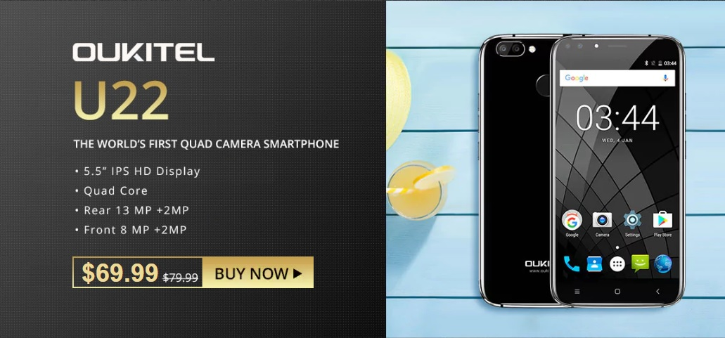 Oukitel Brand Flash Sale