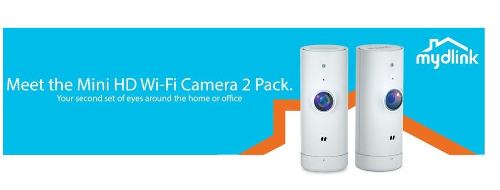 d link launches affordable dcs 800lh mini hd wi fi camera. Black Bedroom Furniture Sets. Home Design Ideas