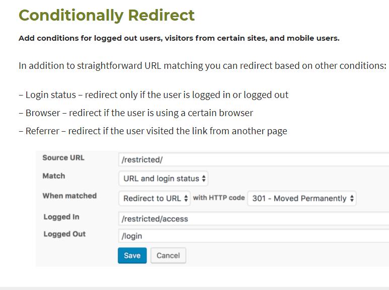 url redirect wordpress plugin