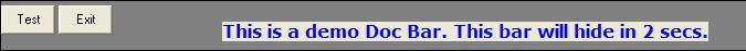 Create Docking Bar in VB